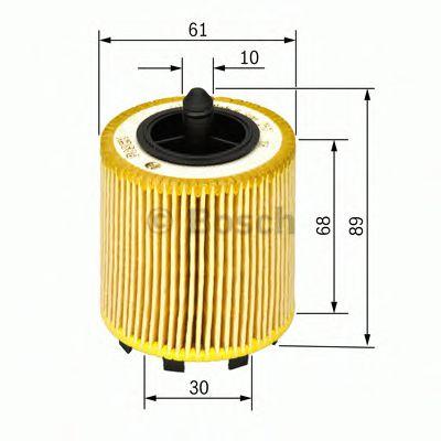 Фильтры масляные Масляный фильтр BOSCH арт. F026407016