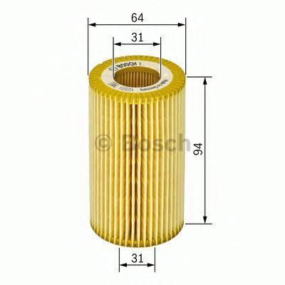 Фільтр масляний Bosch F026407068