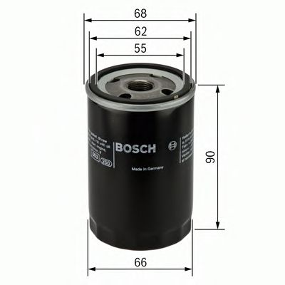 Фільтр масляний Bosch F026407077