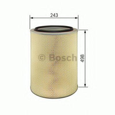 Фильтры воздуха салона автомобиля Воздушный фильтр BOSCH арт. 1457429975