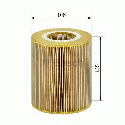 Фильтры воздуха салона автомобиля Воздушный фильтр BOSCH арт. 1457433084