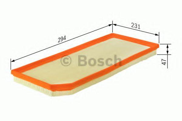 Фильтры воздуха салона автомобиля Воздушный фильтр BOSCH арт. 1457433094