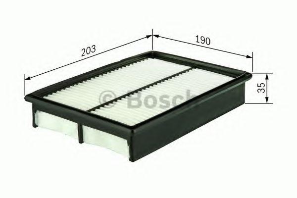 Фільтр повітряний Bosch 1987429166