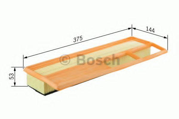Фільтр повітряний Bosch F026400002