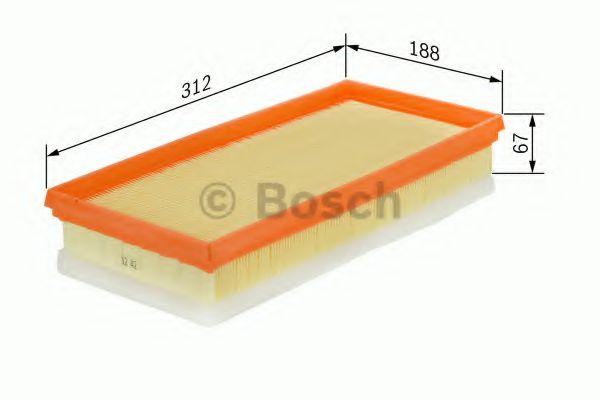 Фільтр повітряний Bosch F026400007
