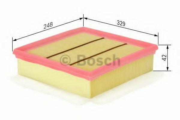 Фільтр повітряний Bosch F026400020