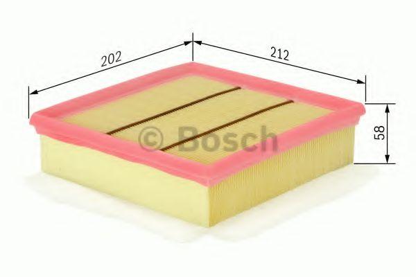 Фільтр повітряний Bosch F026400049