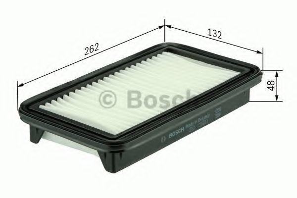 Фильтры воздуха салона автомобиля Воздушный фильтр BOSCH арт. F026400093