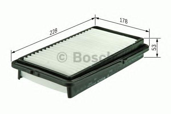 Фильтры воздуха салона автомобиля Воздушный фильтр BOSCH арт. F026400125