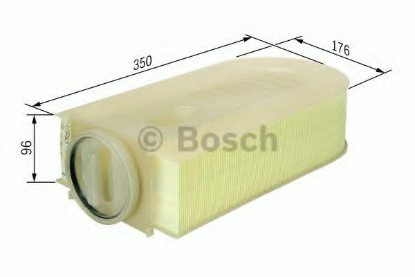 Фільтр повітряний Bosch F026400133