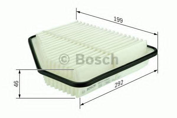 Воздушный фильтр BOSCH арт. F026400159
