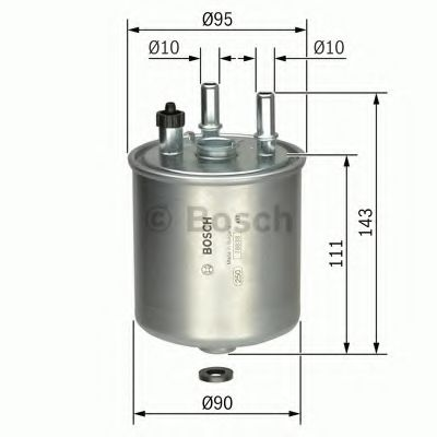 Фільтр паливний Bosch F026402081