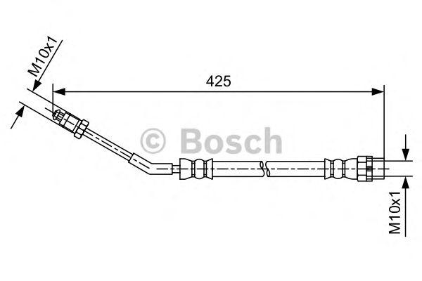 Тормозной шланг BOSCH арт. 1987481579