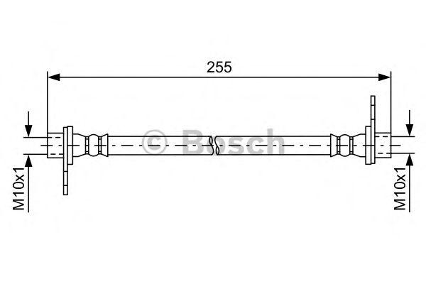Тормозной шланг BOSCH арт. 1987481585