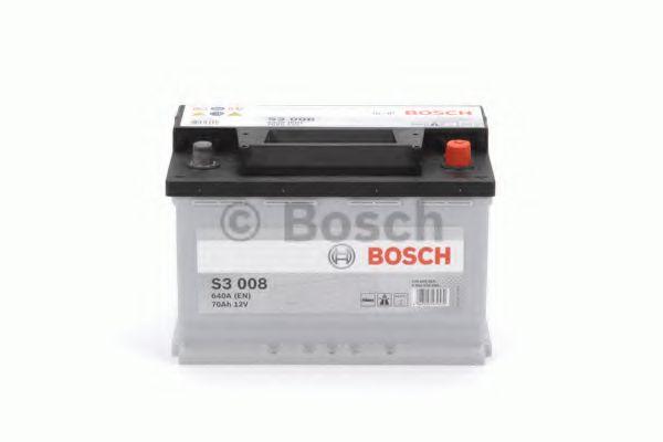 Стартерная аккумуляторная батарея BOSCH арт. 0092S30080