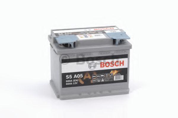 Стартерная аккумуляторная батарея BOSCH арт. 0092S5A050