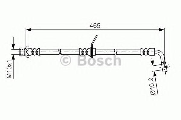 Тормозной шланг BOSCH арт. 1987481612