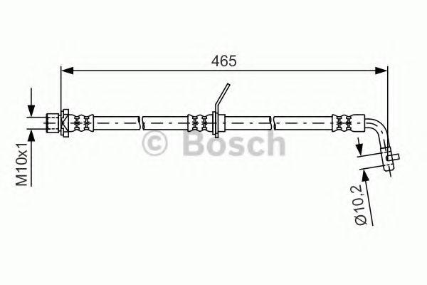 Тормозной шланг BOSCH арт. 1987481613