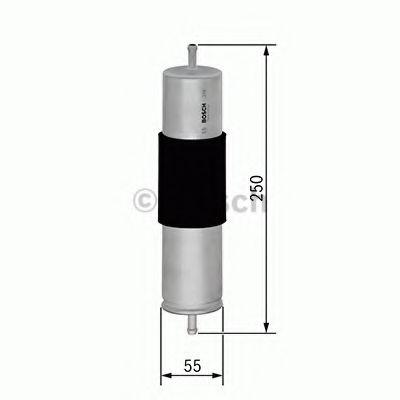 Топливный фильтр BOSCH арт. F026402847
