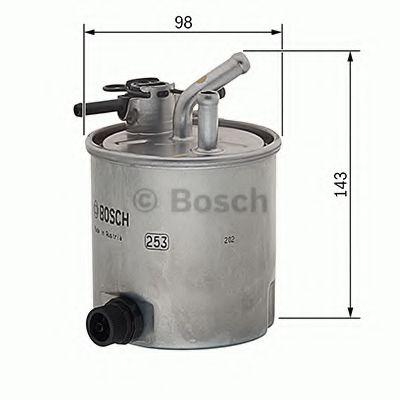 Фільтр паливний Bosch F026402849