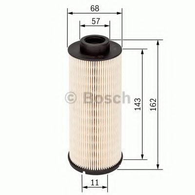 Фильтры топливные Топливный фильтр BOSCH арт. F026402155