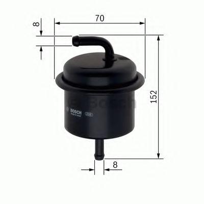 Фільтр паливний Bosch F026403755