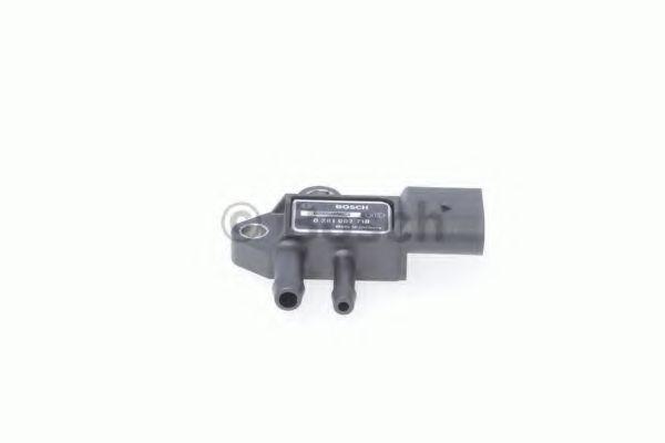 Датчик, давление выхлопных газов BOSCH арт. 0281002710
