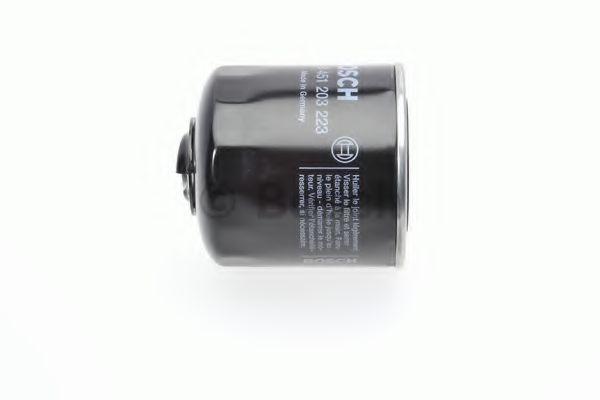 Фильтры масляные Масляный фильтр BOSCH арт. 0451203223