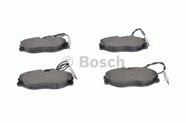 Комплект тормозных колодок, дисковый тормоз BOSCH арт. 0986424223