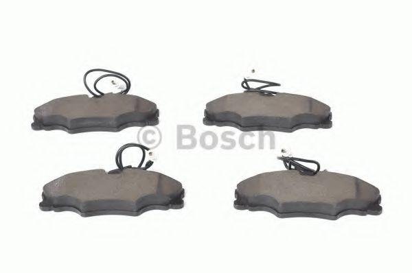 Комплект тормозных колодок, дисковый тормоз BOSCH арт. 0986424227