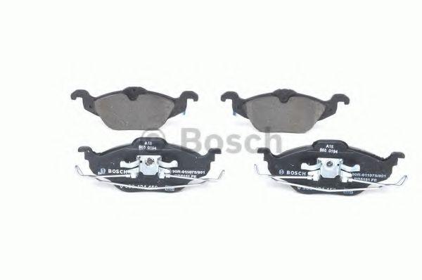 Комплект тормозных колодок, дисковый тормоз BOSCH арт. 0986424456