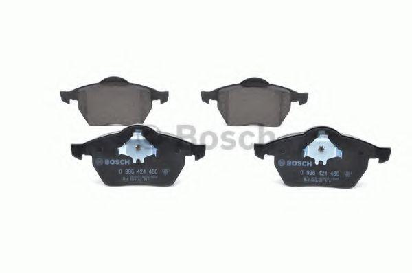Комплект тормозных колодок, дисковый тормоз BOSCH арт. 0986424460