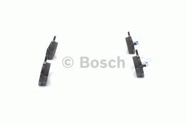 Комплект тормозных колодок, дисковый тормоз BOSCH арт. 0986424484