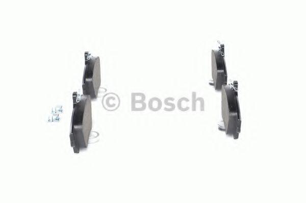 Комплект тормозных колодок, дисковый тормоз BOSCH арт. 0986424541