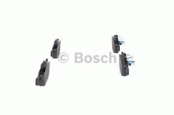 Комплект тормозных колодок, дисковый тормоз BOSCH арт. 0986424558