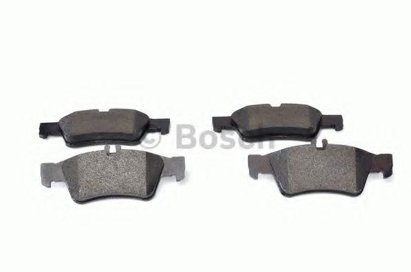 Комплект тормозных колодок, дисковый тормоз BOSCH арт. 0986424699