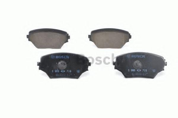 Комплект тормозных колодок, дисковый тормоз BOSCH арт. 0986424719