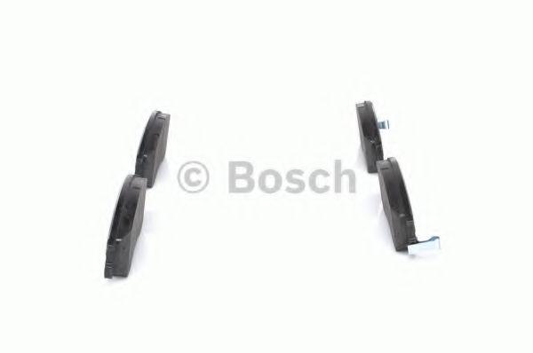 Комплект тормозных колодок, дисковый тормоз BOSCH арт. 0986424729