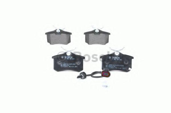 Комплект тормозных колодок, дисковый тормоз BOSCH арт. 0986424813