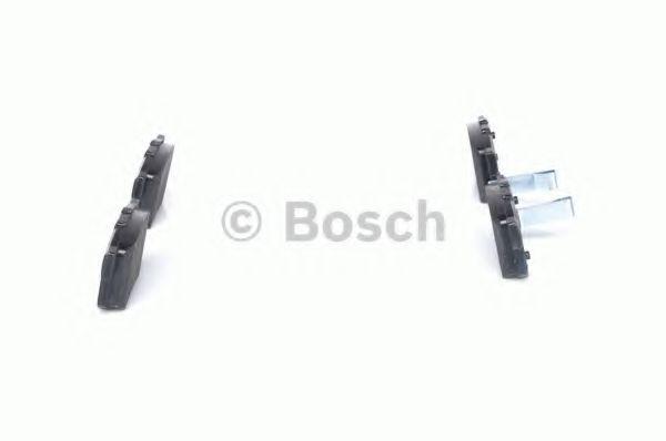 Комплект тормозных колодок, дисковый тормоз BOSCH арт. 0986461006