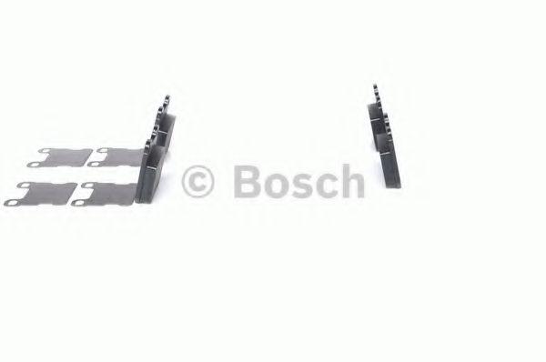 Комплект тормозных колодок, дисковый тормоз BOSCH арт. 0986490500