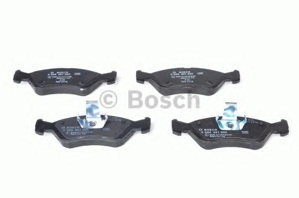 Комплект тормозных колодок, дисковый тормоз BOSCH арт. 0986491900