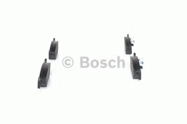 Комплект тормозных колодок, дисковый тормоз BOSCH арт. 0986492020