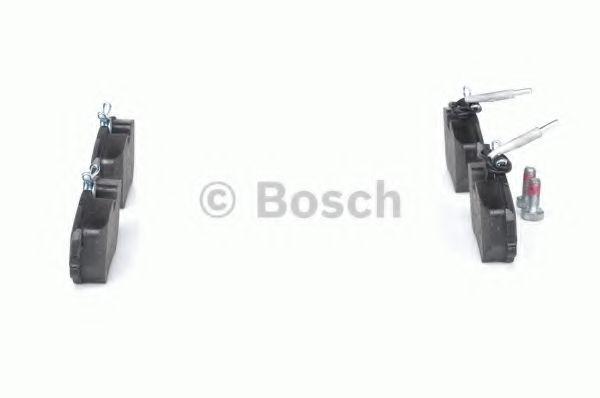 Комплект тормозных колодок, дисковый тормоз BOSCH арт. 0986492090