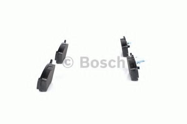 Комплект тормозных колодок, дисковый тормоз BOSCH арт. 0986494002