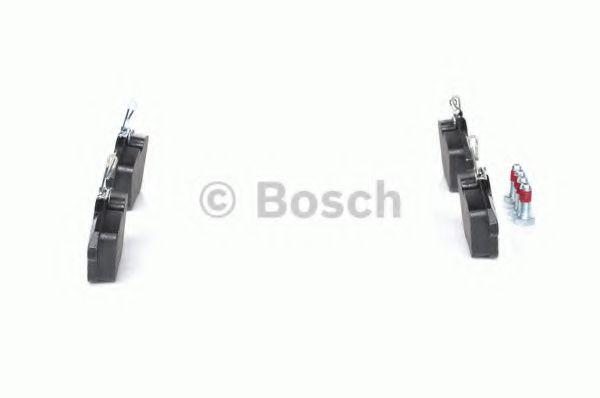Комплект тормозных колодок, дисковый тормоз BOSCH арт. 0986494020