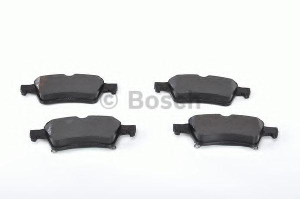 Комплект тормозных колодок, дисковый тормоз BOSCH арт. 0986494032