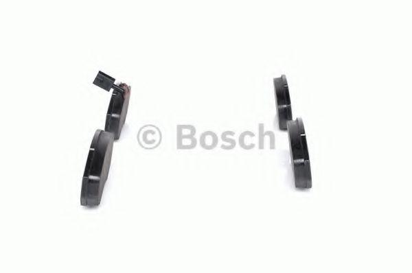 Комплект тормозных колодок, дисковый тормоз BOSCH арт. 0986494048