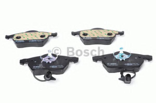 Комплект тормозных колодок, дисковый тормоз BOSCH арт. 0986494050