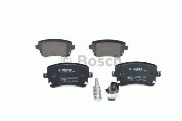 Комплект тормозных колодок, дисковый тормоз BOSCH арт. 0986494108